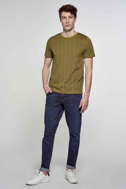 R.EV 1703 by Remco Evenepoel T-shirts (korte mouwen) groen REV211MT 012_GREEN MOSS img2