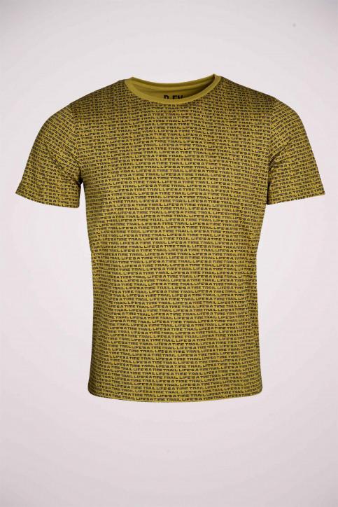 R.EV 1703 by Remco Evenepoel T-shirts (korte mouwen) groen REV211MT 012_GREEN MOSS img4