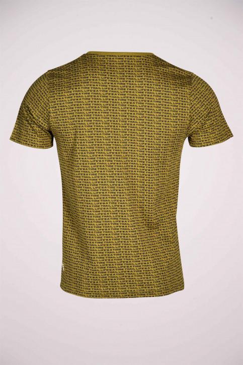 R.EV 1703 by Remco Evenepoel T-shirts (korte mouwen) groen REV211MT 012_GREEN MOSS img5