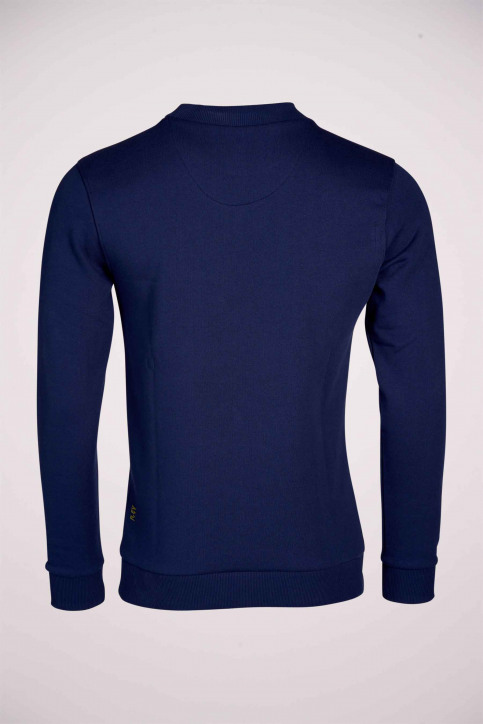 R.EV 1703 by Remco Evenepoel Sweaters met ronde hals blauw REV211MT 013_NAVY img6