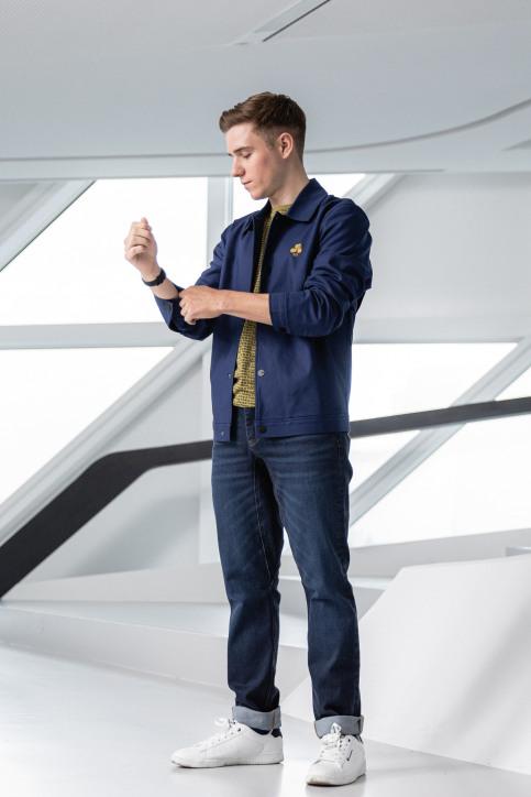 R.EV 1703 by Remco Evenepoel Jeans slim denim REV211MT 017_DENIM img1