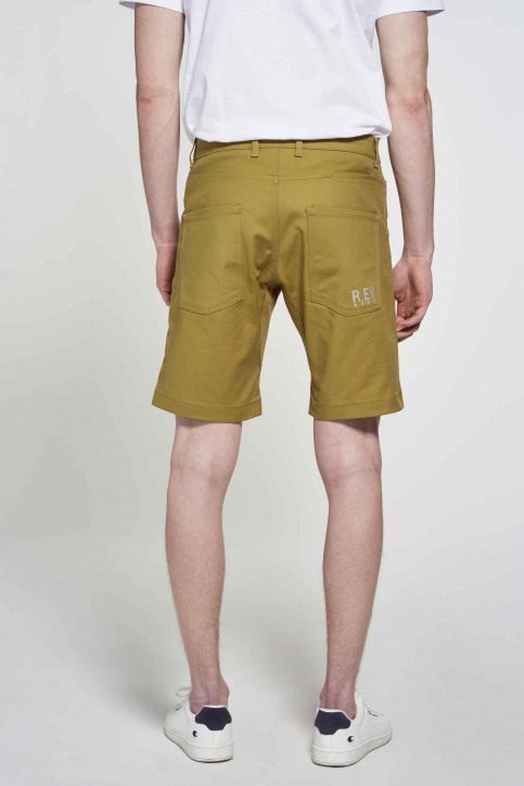 R.EV 1703 by Remco Evenepoel Shorts groen REV211MT 018_GREEN MOSS img3