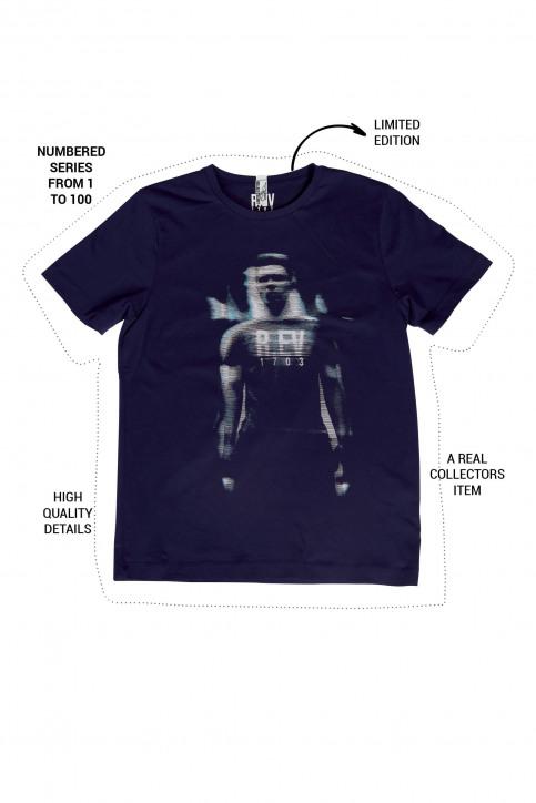 R.EV 1703 by Remco Evenepoel T-shirts (korte mouwen) blauw REV211MT 022_NAVY img1