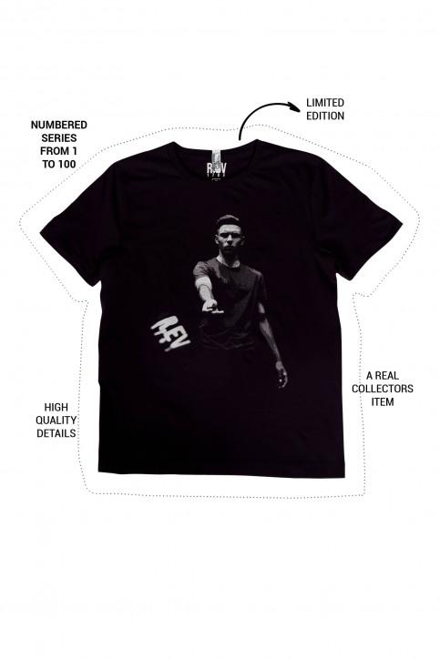 R.EV 1703 by Remco Evenepoel T-shirts (korte mouwen) zwart REV211MT 023_BLACK img1