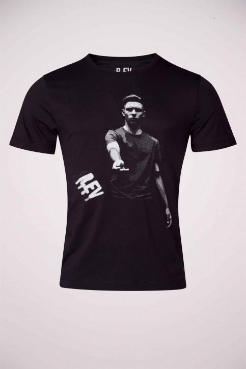 R.EV 1703 by Remco Evenepoel T-shirts (korte mouwen) zwart REV211MT 023_BLACK img2