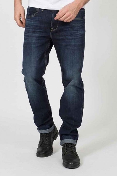 Petrol Jeans straight grijs RILEY STRAIGHT_5806 DARK STONE img1