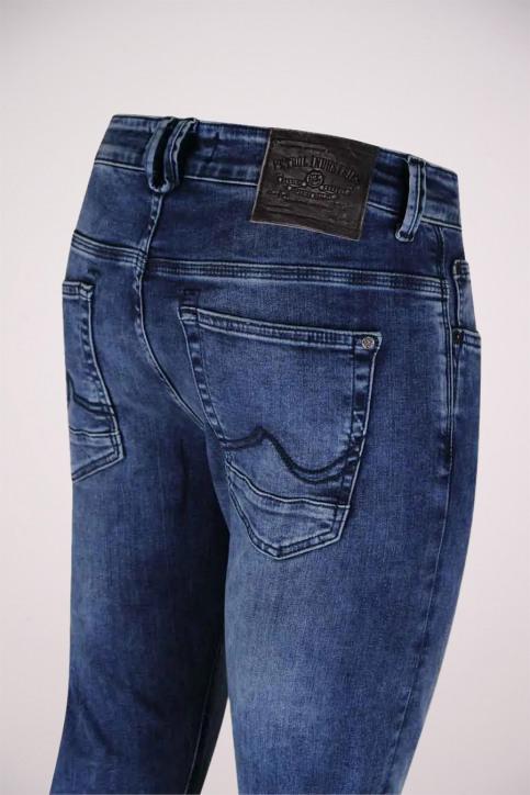 Petrol Jeans slim denim SEAHAM_94BLUE img4