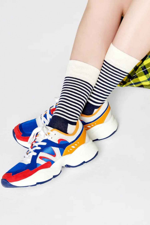 Happy Socks® Chaussettes multicoloré SH01068_HALF STRIPE img5