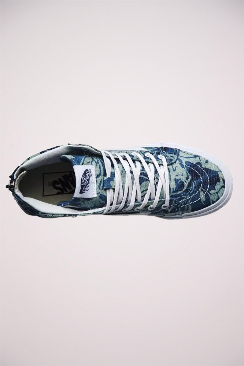 Vans Chaussures (unisex) multicoloré SK8 HI_INDIGO TROPICA img2
