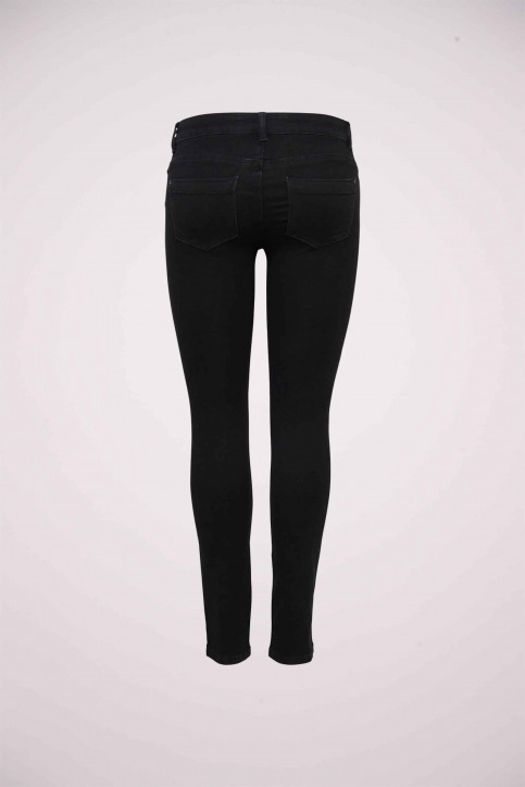 ONLY Jeans skinny noir SKINNY REG ULTIMATE_BLACK DENIM img2