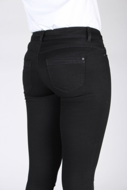 ONLY Jeans skinny zwart SKINNY REG ULTIMATE_BLACK DENIM img3