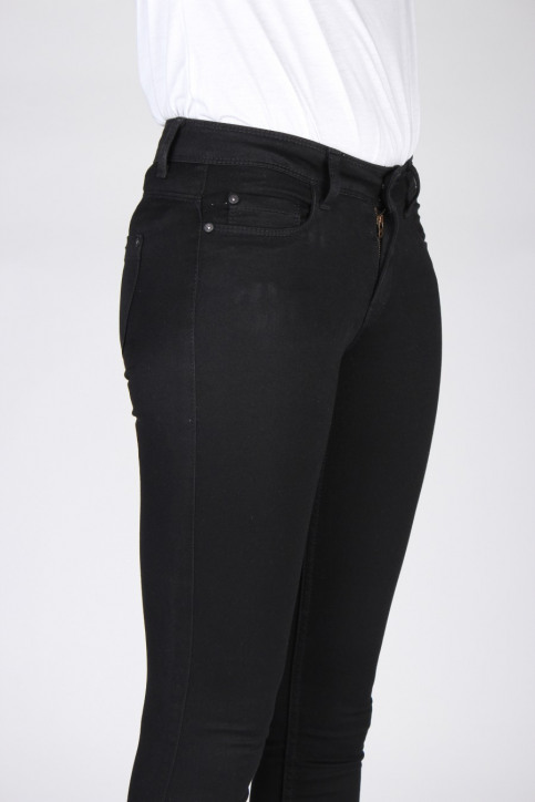 ONLY Jeans skinny noir SKINNY REG ULTIMATE_BLACK DENIM img4