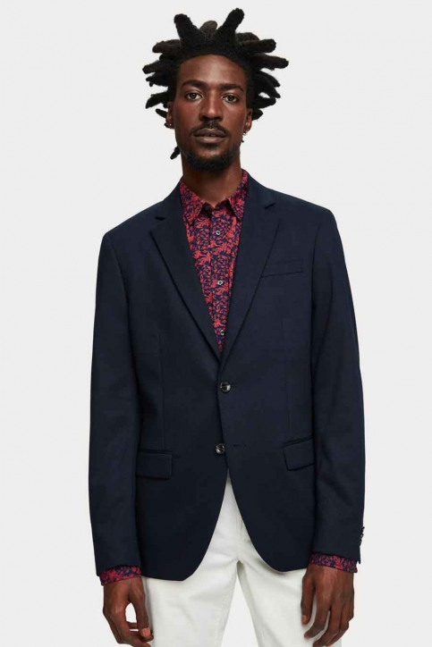 Scotch & Soda Blazers blauw SSP-153757_57 57-navy img1