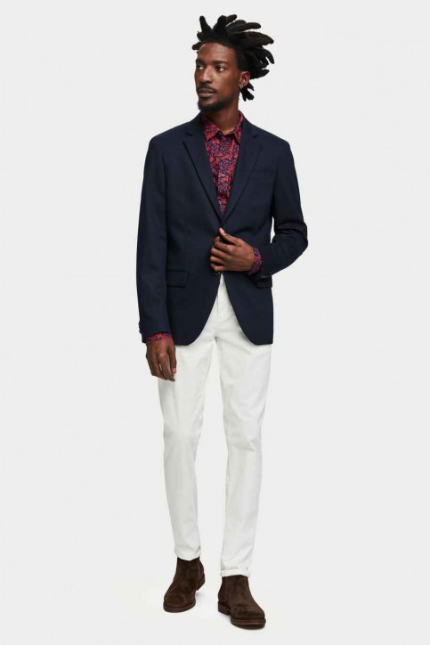 Scotch & Soda Blazers blauw SSP-153757_57 57-navy img2
