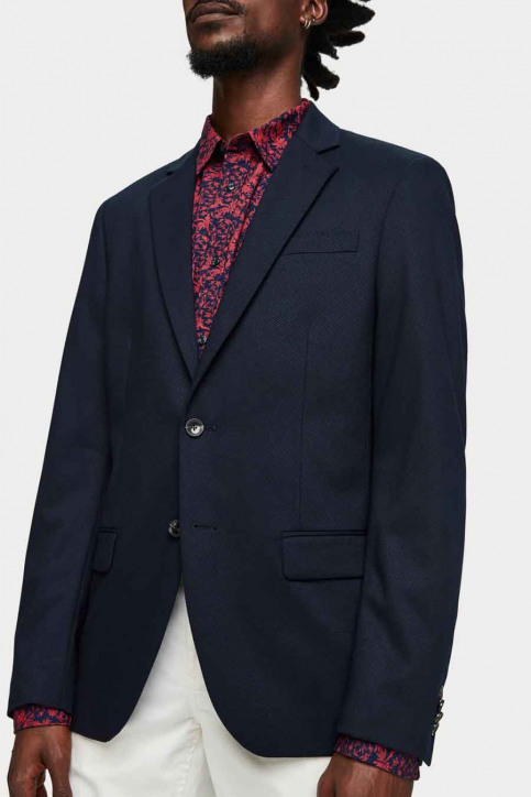 Scotch & Soda Blazers blauw SSP-153757_57 57-navy img4