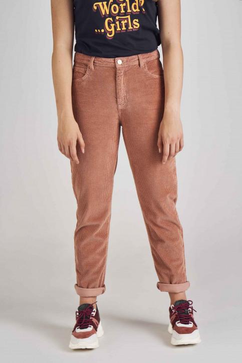 Stien Edlund Colorbroeken roze STI192WT 006_OLD ROSE img2