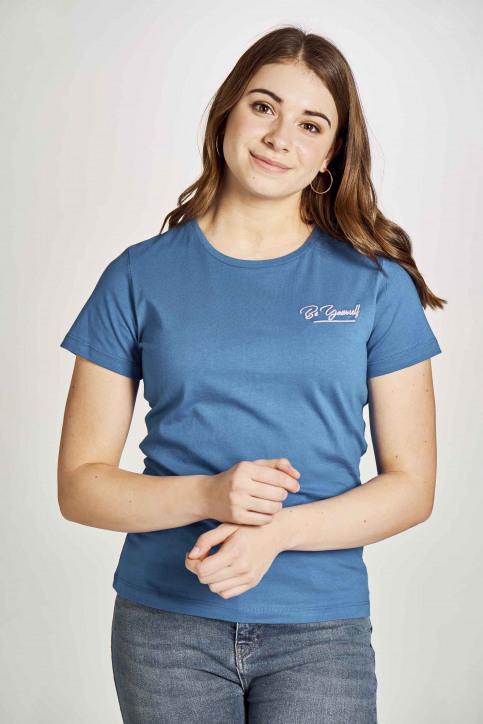 Stien Edlund T-shirts (korte mouwen) blauw STI201WT 023_ELECTRIC BLUE img1