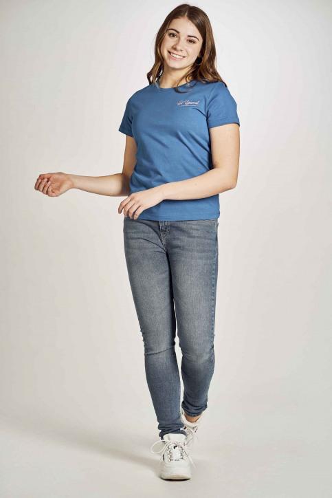 Stien Edlund T-shirts (korte mouwen) blauw STI201WT 023_ELECTRIC BLUE img2