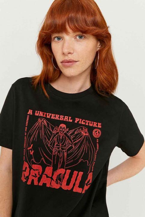 TALLY WEIJL T-shirts (korte mouwen) zwart STSCODRACULA_BLACK img4