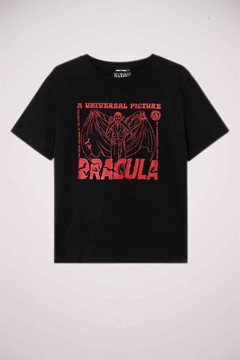 TALLY WEIJL T-shirts (korte mouwen) zwart STSCODRACULA_BLACK img5