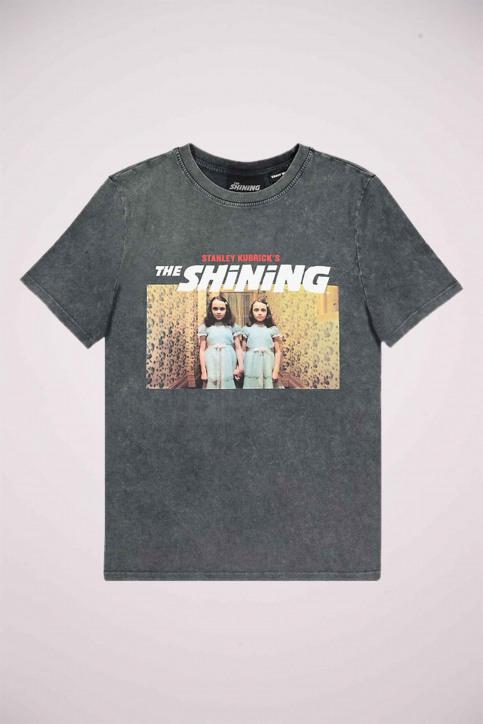 TALLY WEIJL T-shirts (manches courtes) gris STSCOSHIN_GRIS CHINE DARK img5