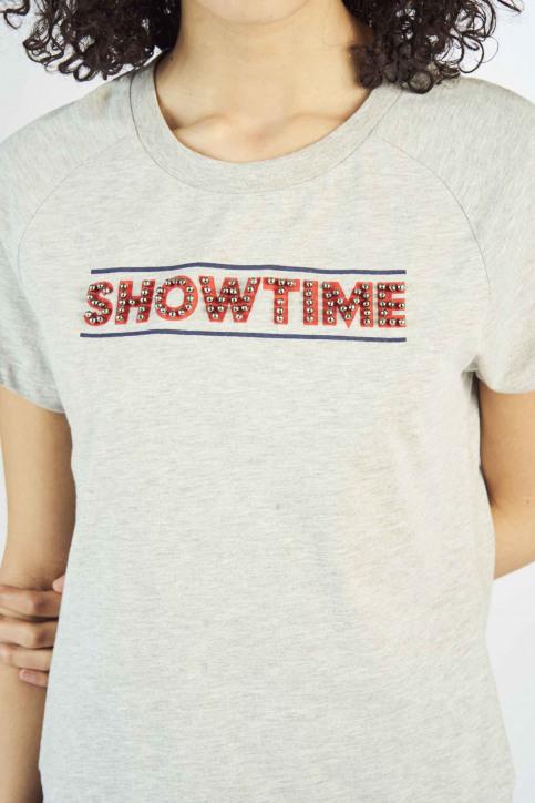 SUPASTAR by Tatyana Beloy T-shirts (korte mouwen) grijs SUP191WT 002_GREY HEATHER img4