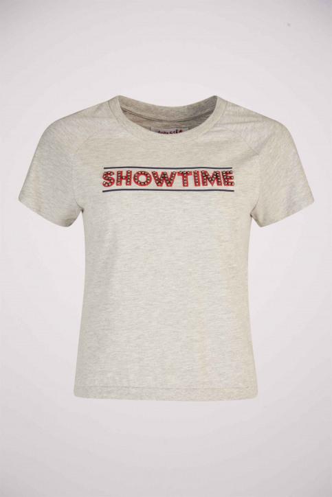 SUPASTAR by Tatyana Beloy T-shirts (korte mouwen) grijs SUP191WT 002_GREY HEATHER img5