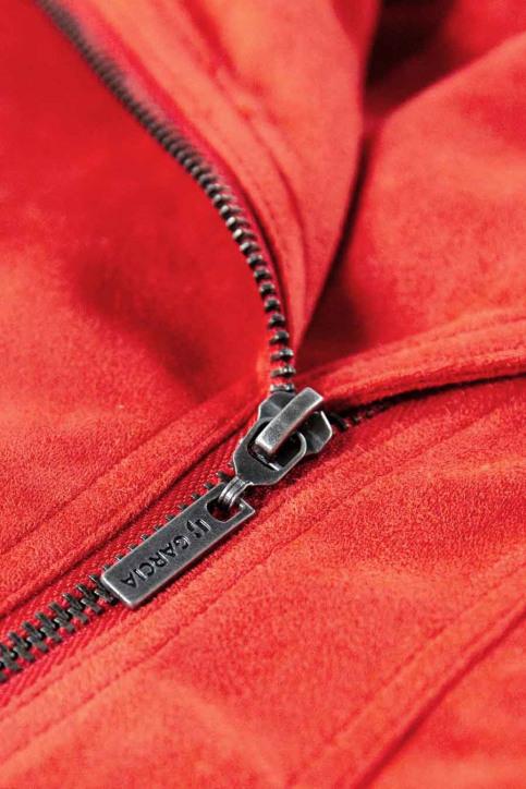 GARCIA Lederen jassen rood T02653_3439 RED ORANGE img3