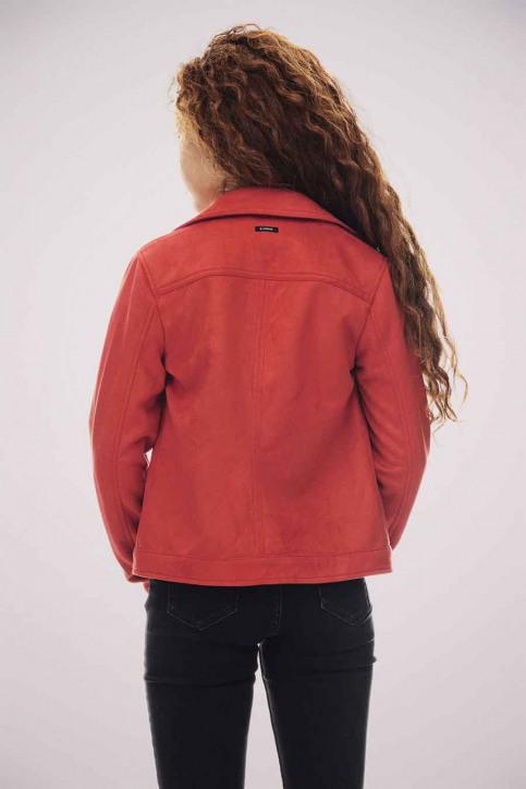 GARCIA Lederen jassen rood T02653_3439 RED ORANGE img4