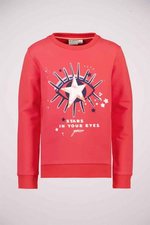 GARCIA Sweaters col O rouge T04661_2851 FLAME RED img1