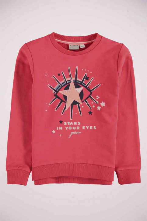GARCIA Sweaters col O rouge T04661_2851 FLAME RED img4