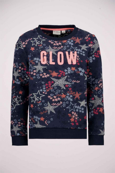 GARCIA Sweaters col O bleu T04664_2878 BLUEBELL img1