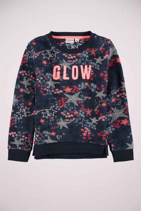 GARCIA Sweaters col O bleu T04664_2878 BLUEBELL img4