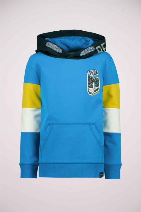 GARCIA Sweaters met kap blauw T05662_3183 SURF BLUE img1