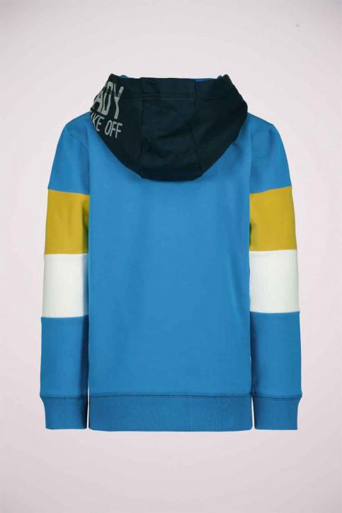 GARCIA Sweaters met kap blauw T05662_3183 SURF BLUE img2