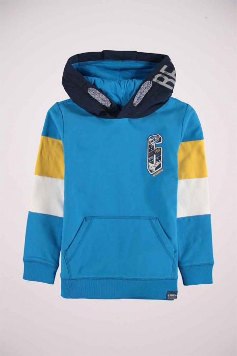 GARCIA Sweaters met kap blauw T05662_3183 SURF BLUE img4