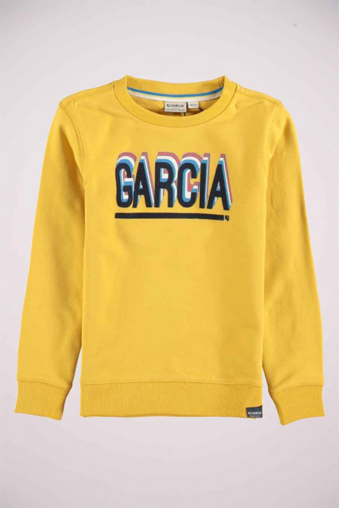 GARCIA Sweaters met O-hals geel T05665_5453 FIRE FLY img4