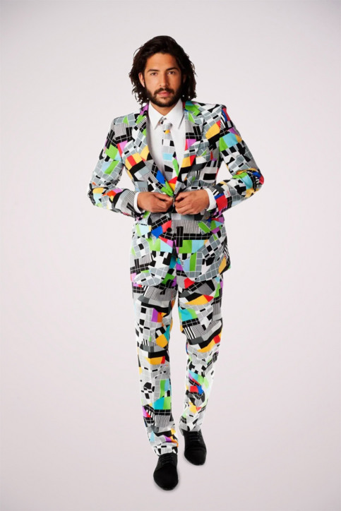 Opposuits Costumes carnaval multicoloré TESTIVAL_0010 img1