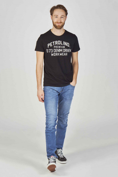 Petrol Jeans tapered denim THRUXTON_5701 LIGHT USED img2