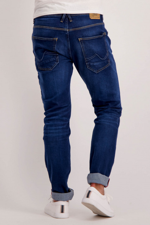 Petrol Jeans tapered denim THRUXTON_5755 MED STONE img3