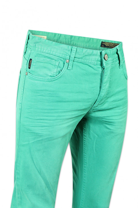 CORE BY JACK & JONES Jeans slim groen TIM ORIGINAL_PORCELAIN GREEN img5