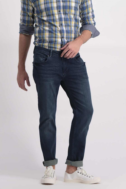 Petrol Jeans tapered denim TYMORE_5801MID BLUE img1