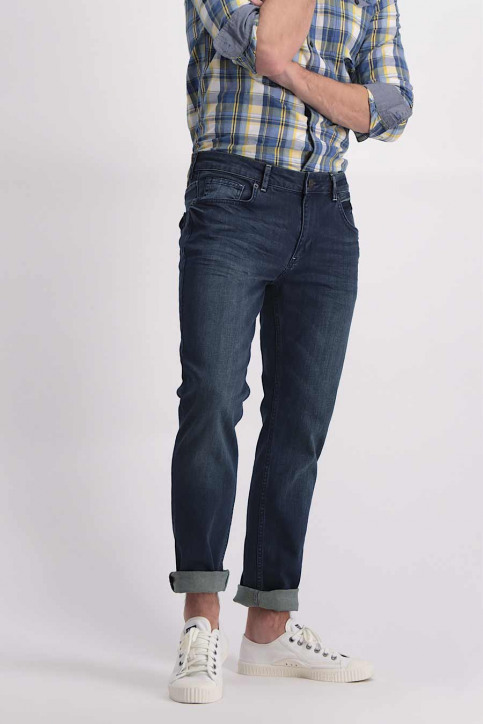 Petrol Jeans tapered denim TYMORE_5801MID BLUE img5