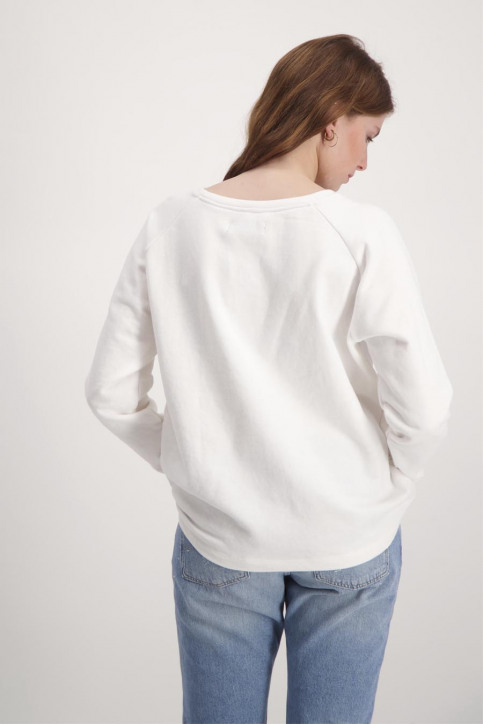 BlendShe Sweaters met ronde hals wit TYRON L SW_20004BRIGHT WH img3
