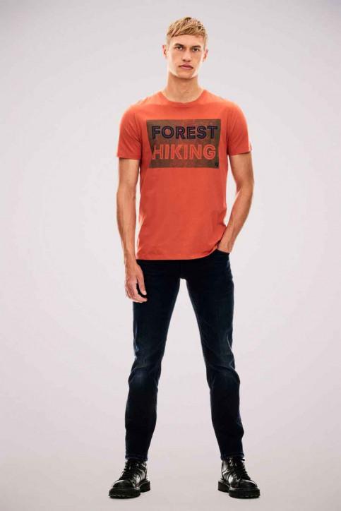 GARCIA T-shirts (manches courtes) orange U01001_2859 GINGER img2