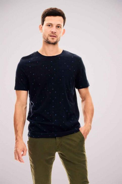 GARCIA T-shirts (manches courtes) bleu U01004_292 DARK MOON img1