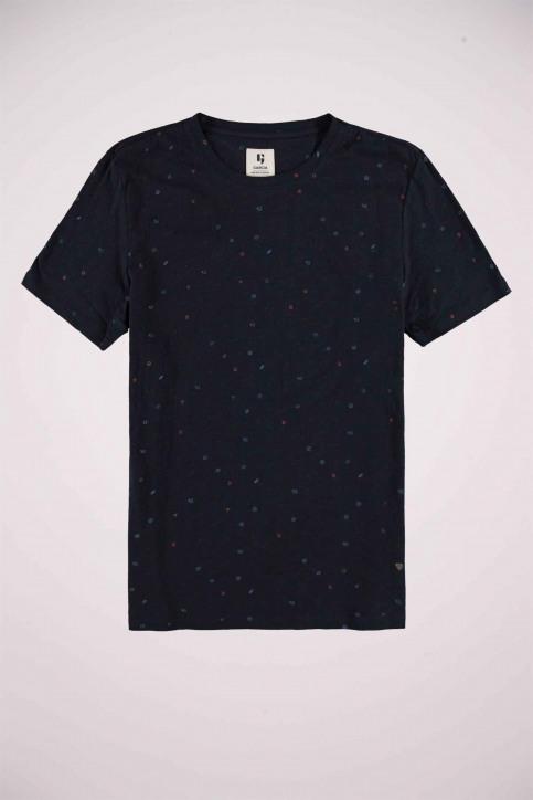 GARCIA T-shirts (manches courtes) bleu U01004_292 DARK MOON img4