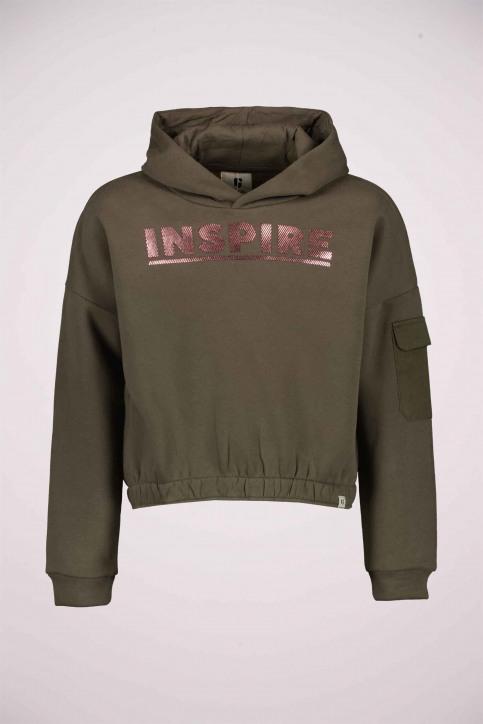 GARCIA Sweaters avec capuchon VERT U02464_GREEN img1