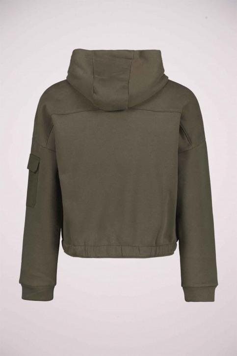 GARCIA Sweaters avec capuchon VERT U02464_GREEN img2