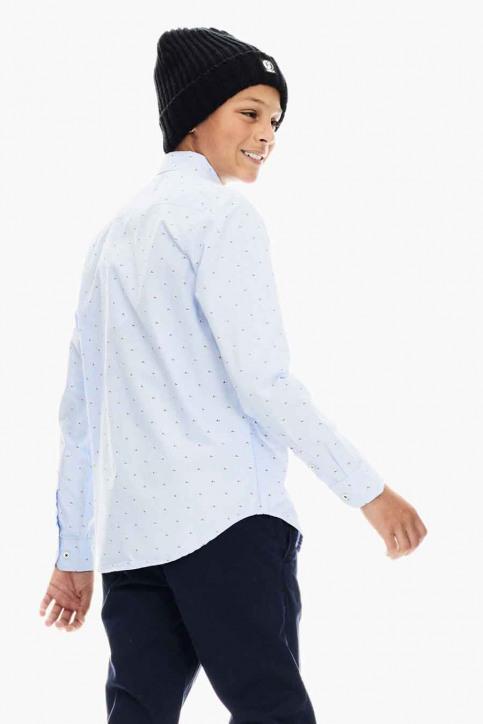 GARCIA T-shirts manches longues bleu U03432_SKY BLUE 2574 img2